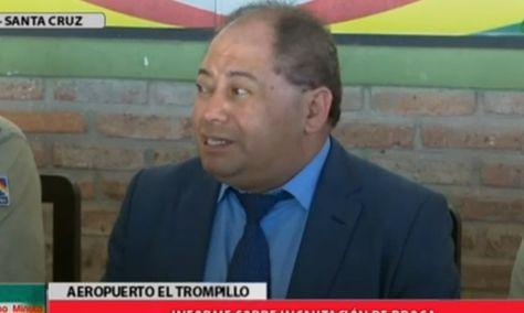 El ministro Carlos Romero detalla los resultados de los operativos antidroga.