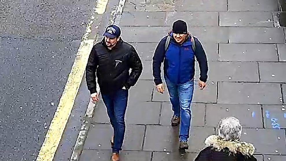 Identifican a dos rusos sospechosos del envenenamiento de los Skripal