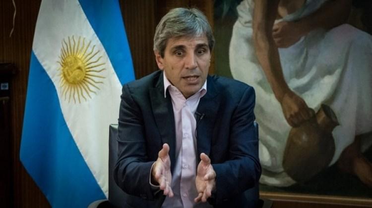 Luis Caputo, presidente del Banco Central (Martín Rosenzveig)
