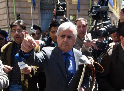 El cónsul de Chile en Bolivia, Manuel Hinojosa. Foto: archivo Miguel Carrasco