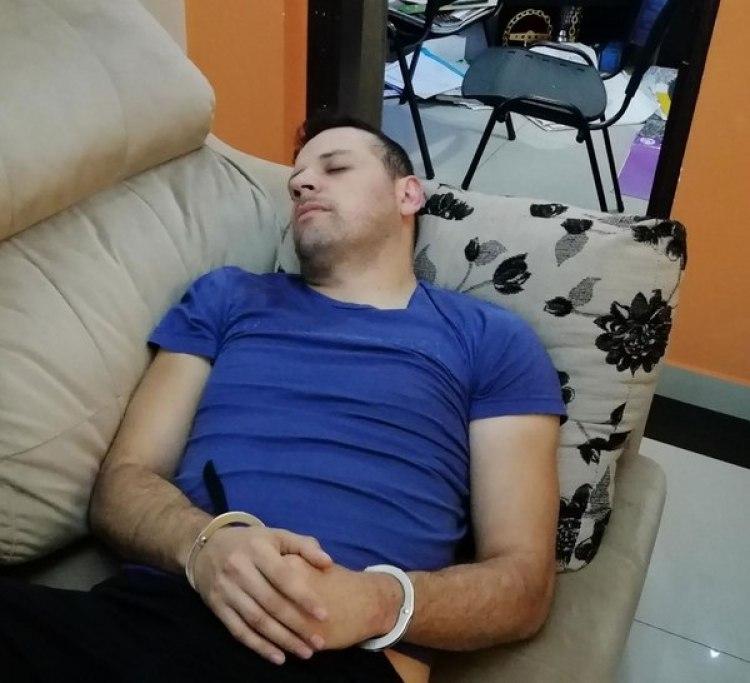 """Reinaldo Javier Cabañas Santacruz, alias """"Cucho"""", líder de la banda narco"""