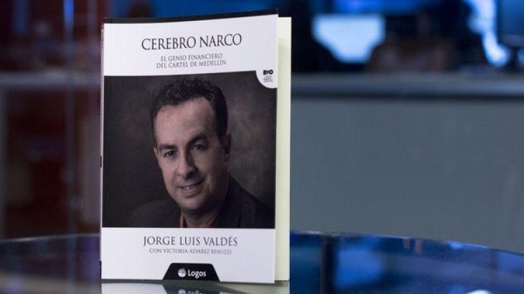 """Valdés presentó su libro """"Cerebro narco"""""""