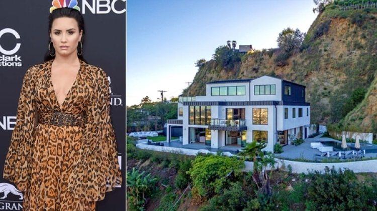 Demi puso a la venta su mansión en Hollywood Hills