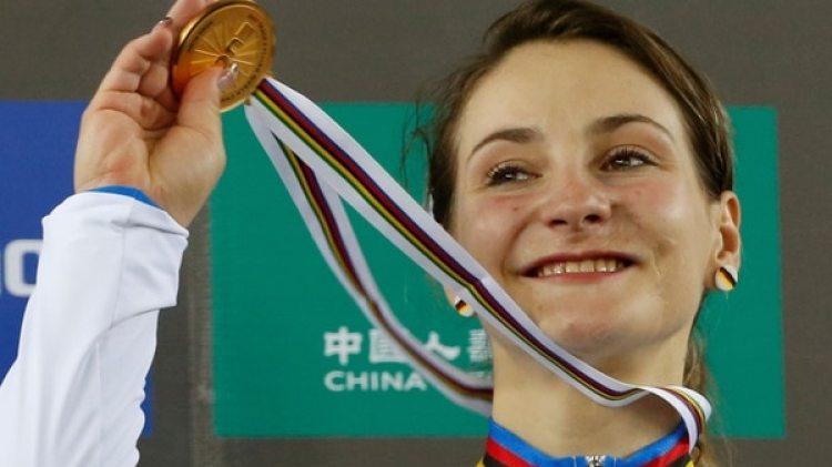 Kristina Vogel, ex campeona olímpica, contó cómo quedó parapléjica tras un accidente (AFP)