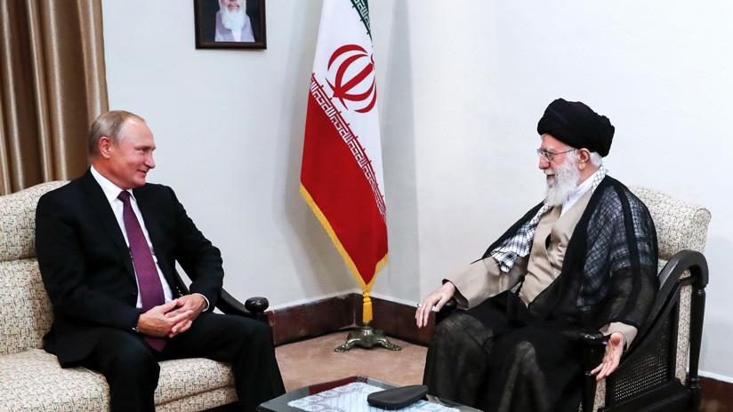 El líder supremo de Irán aboga por la cooperación con Rusia para