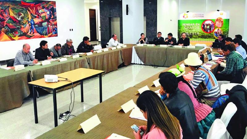 La Paz, Santa Cruz y Tarija no asisten a cita sobre Pacto Fiscal