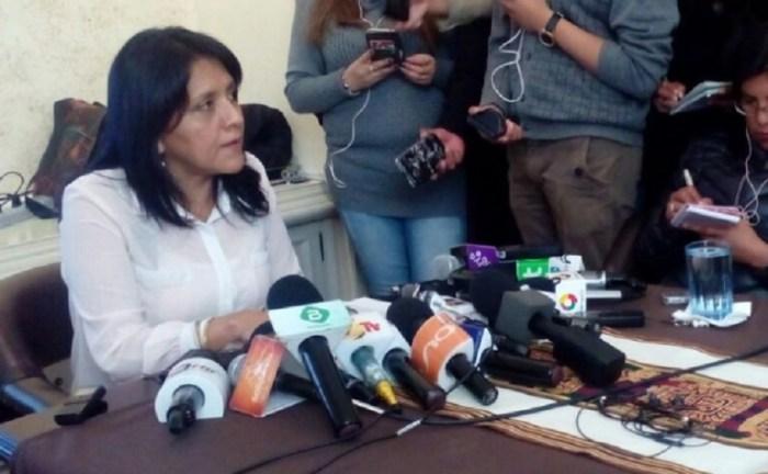 Ministra de Comunicación Gísela López/Foto. RRSS