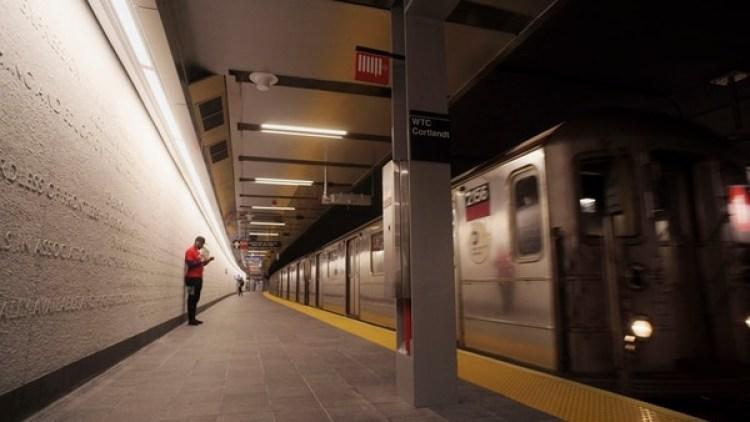 Reabrió la estación de metro de Cortland Street en Nueva York (AP)
