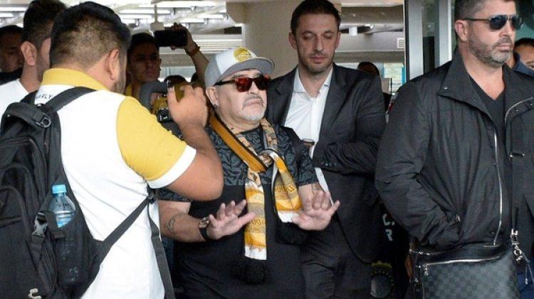 Maradona, con problemas en México