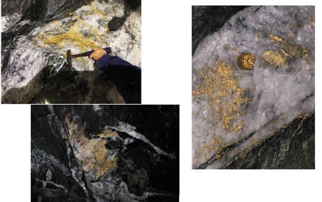 Imágenes del interior de la mina (Foto: RCN Minerals)