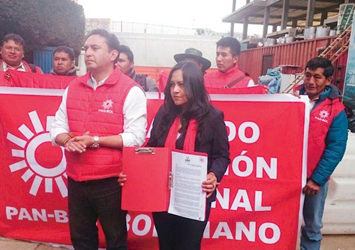 Partido de Acción Nacional Boliviano (PAN – BOL).