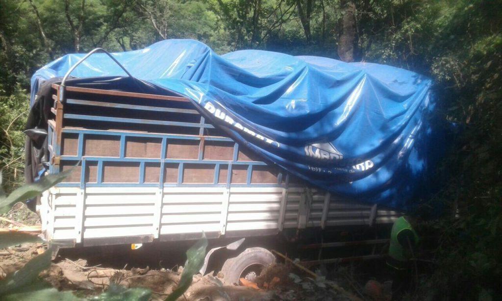Camión se embarranca y deja un fallecido en la carretera Tarija – Potosí