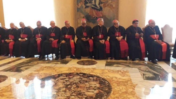 Obispos venezolanos se reunieron con el papa Francisco en el Vaticano