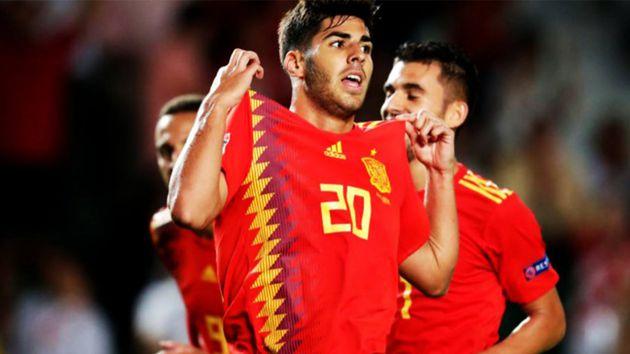 marco asensio destaca en victorias de espana sobre croacia e inglaterra