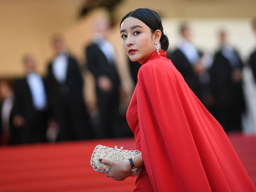 Fan Bingbing en el pasado festival de Cannes.