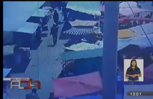 Oruro: Niño de dos años fue robado en pleno mercado