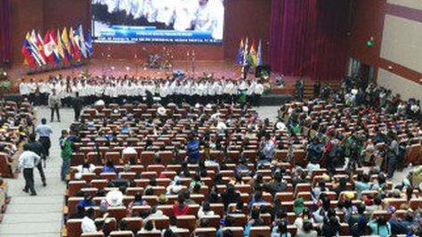 Inauguración del Parlamento de la Unasur