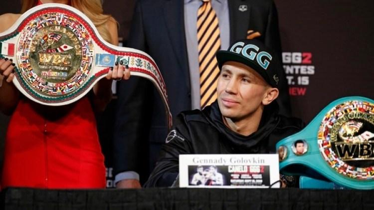 Golovkiny Canelo Álvarez pelearán por segunda vez este sábado en Las Vegas