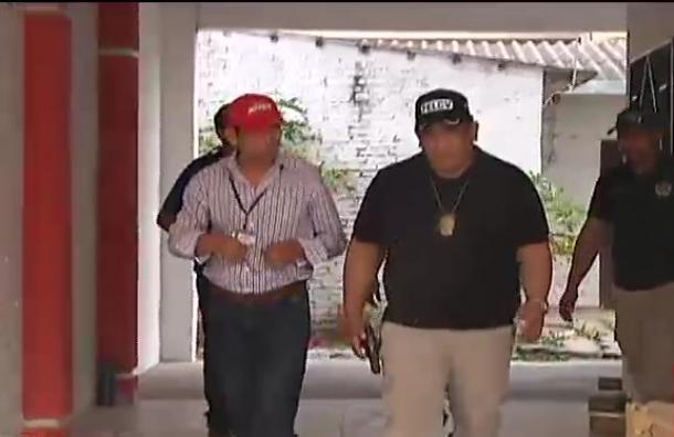 Realizan segundo allanamiento al inmueble de Claudio Caiguara