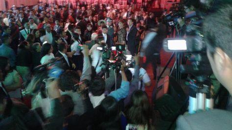 Incidentes en la sesión de la Asamblea Legislativa