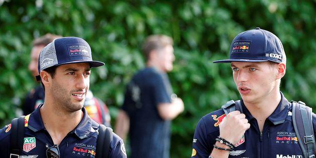 Los Red Bull lideran los primeros entrenamientos en Singapur