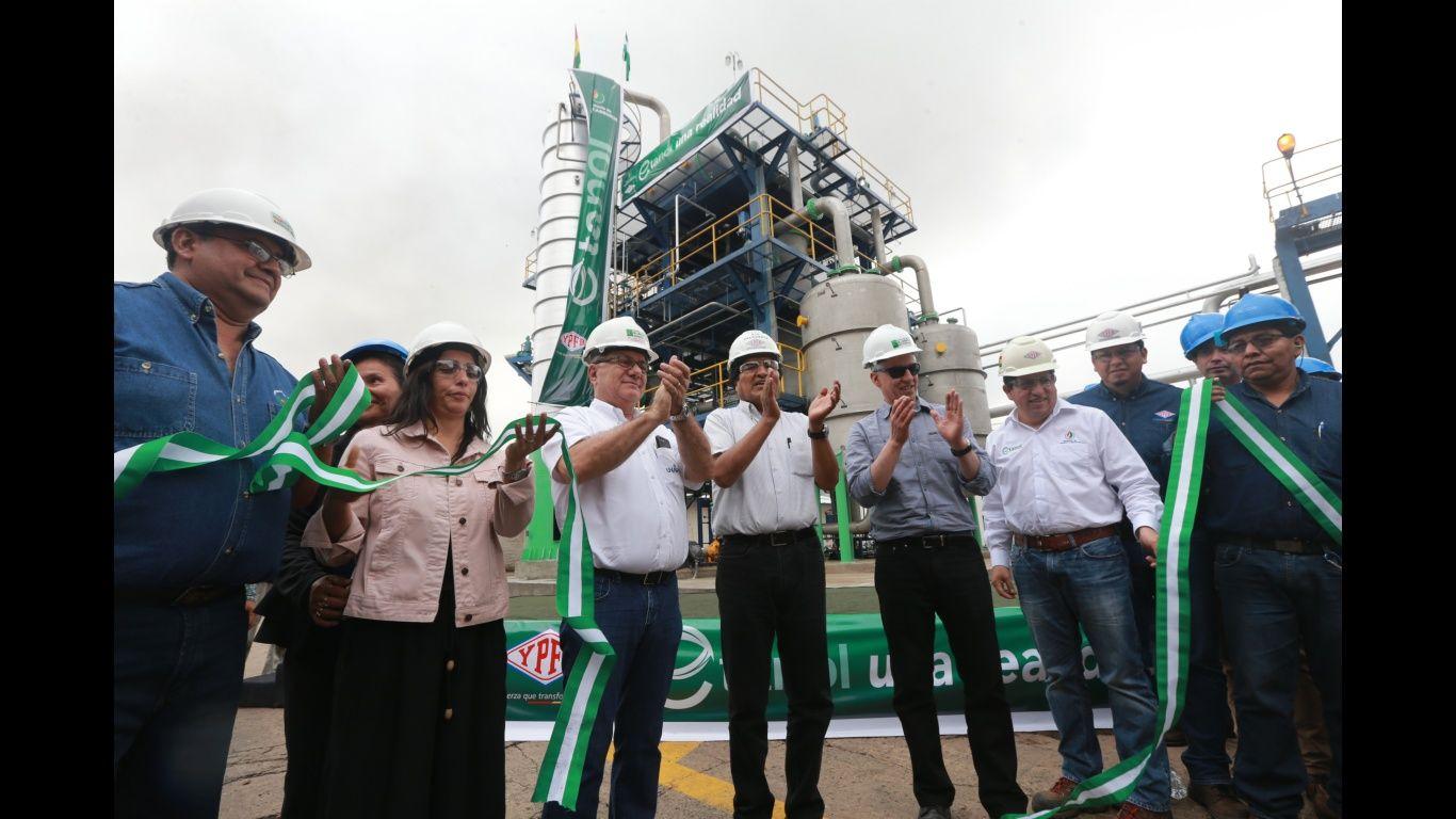 Presidente Morales promulga la Ley del Etanol