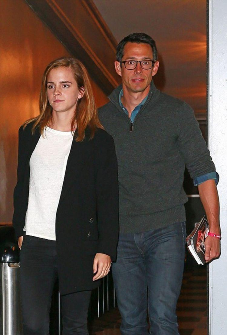 El empresario William Knight y Emma Watson salieron entre octubre de 2015 a noviembre de 2017