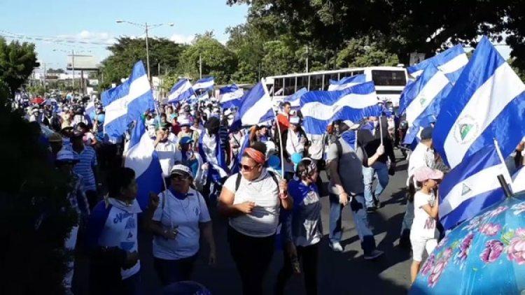Este domingo se desarrollan nuevas movilizaciones en Nicaragua