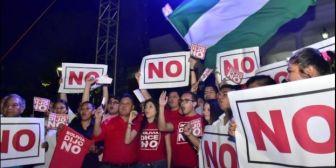 Plataformas del 21F lanzan el tema 'Bolivia Dijo No… No se van a quedar'