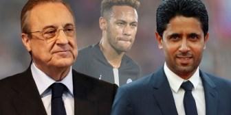 La guerra pública entre los presidentes del Real Madrid y el PSG por Neymar