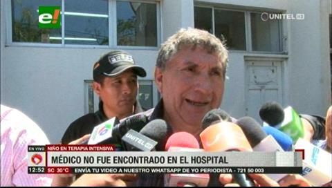 Fiscalía inspeccionó el Oncológico, no encontraron al médico que extrajo el riñón