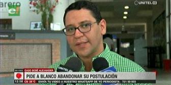 Monasterio pide a Edwin Blanco que abandone su postulación a Fiscal General