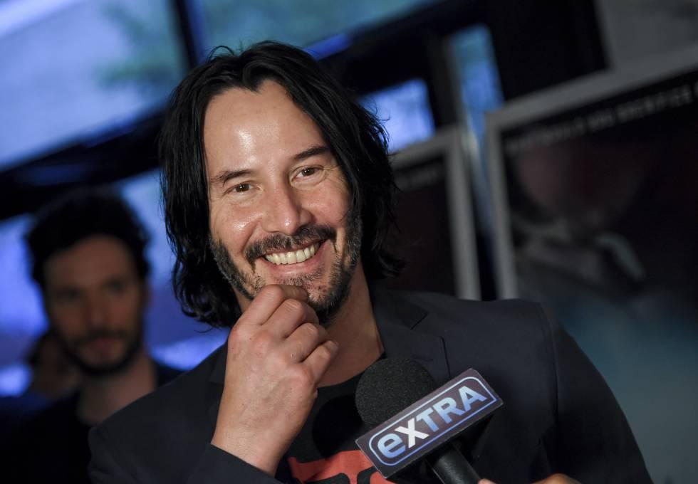 Keanu Reeves en el estreno de Siberia en Nueva York el pasado mes de julio.