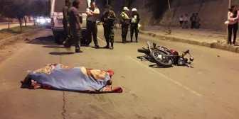 Camión atropella y mata a una persona en la avenida Integración de Tarija