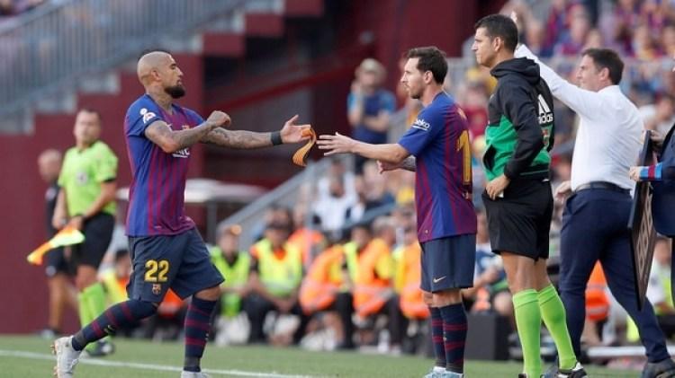 Arturo Vidal no ha podido completar un partido desde que fichó por el FC Barcelona (Reuters)