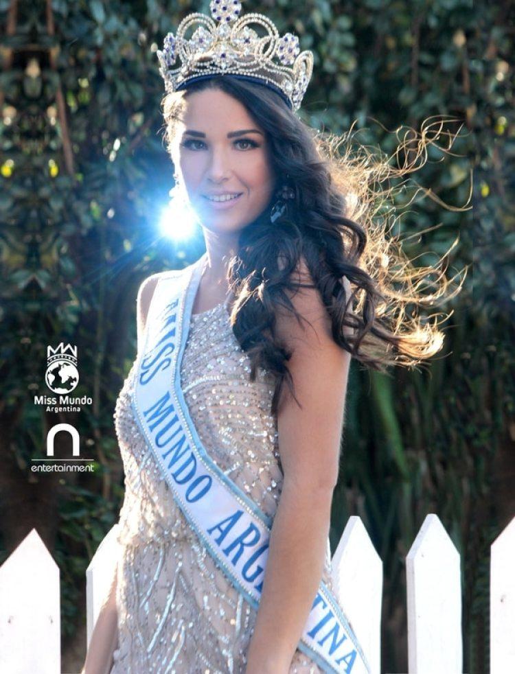 Soto fue seleccionada como Miss Mundo Argentinay representará al país en China