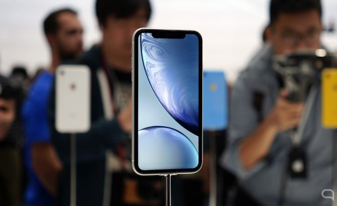 Apple hará una carcasa transparente para el iPhone XR