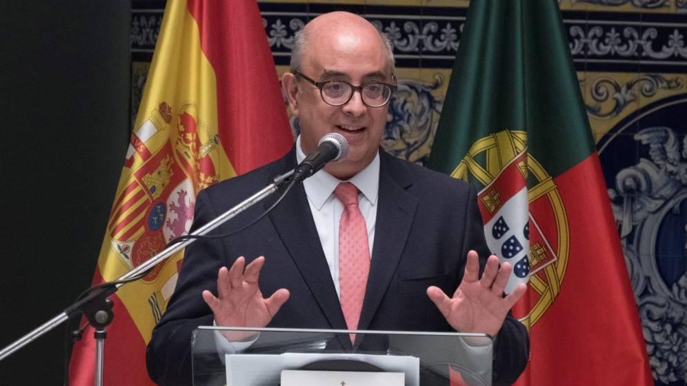 Foto: José Alberto de Azeredo durante un acto en Ayamonte el pasado 9 de octubre. (EFE)