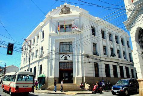 Edificio de la Fiscalía General. Foto: www.aclo.org.bo