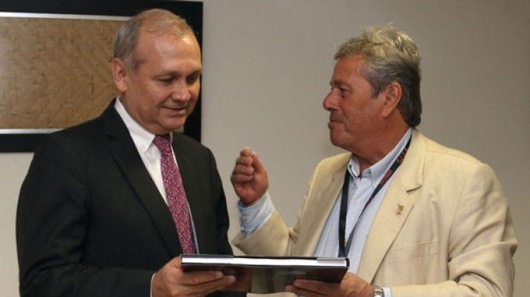Mario Ferreiro y Enrique Antía