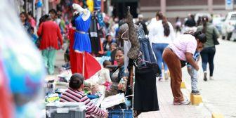 Ambulantes se asientan en Los Pozos aprovechando el poco control del municipio
