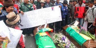 Más de 100 muertos por conflictos sociales en el periodo de Evo no encuentran justicia
