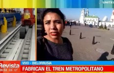 Autoridades inspeccionaron avances de la construcción del tren metropolitano