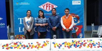 Realizan campaña en favor de los niños con cáncer a través del reciclaje de tapas en Tarija
