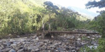 Piden ayuda: Río Coroico se desborda e inunda refugio de animales Senda Verde en Yungas de La Paz