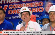 Rolando Borda continuará liderando la COD cruceña