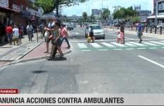 Alcaldía anuncia acciones legales contra los que entorpezcan el reordenamiento