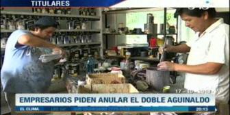 Video titulares de noticias de TV – Bolivia, noche del miércoles 17 de octubre de 2018