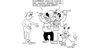 Caricaturas de Bolivia del sábado 13 de octubre de 2018