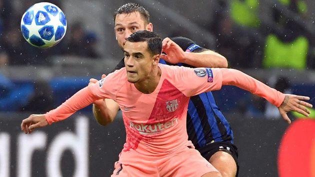 El tiempo que será baja Coutinho con Barcelona
